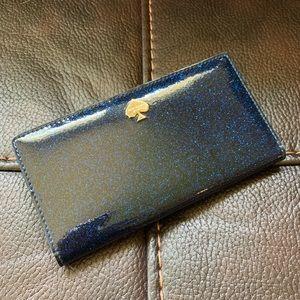 Navy glitter Kate Spade Wallet